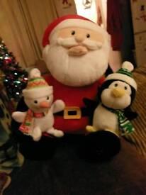 Singing Santa New