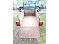 Small tidy trailer now £75
