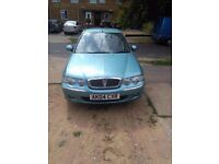Sell Rover 45 real milleage 68.000 MOT end in march 2017