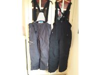 Selection of used good quality Ski Clothes