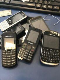 JobLot Of Different Vintage Phones