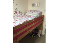 Selling a full size single mid sleeper frame collection only didcot