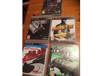 Various Playstation Games for sale