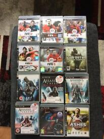 PS2 games and 2 controllers