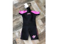 Brand new wetsuit for sale, size age 10.