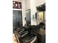 Hair dressing mirrors,basin ,trolley for sell