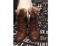Women's boots, wedges, sandals