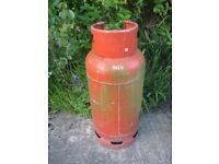 "Large Empty Gas Bottle / Cylinder, "" Total Gas"" Propane 19 Kg"