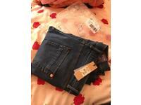 Girls river Island brand new tagged jeans