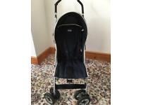 Chicco Buggy complete with rain hood, rain cover and foot muff