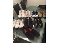 Bundle of men's size 9 shoes and trainers