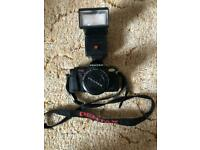 Pentax P30 Camera with Lens & Flash