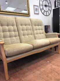 Hsl cottage sofa 3 plus 1 £149 delivered