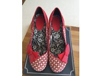 Ladies Ruby Shoo shoes size 8