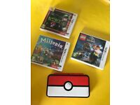 Pokemon Nintendo 3DS. Bought last December. Plus 3 games. See picture.