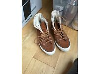 Suede leather converse