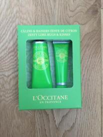 Gift set - New Unopened - L'Occitane lotions Balm & Lips