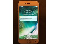 iPhone 6S 64GB GOLD - Cracked glass but fully working.