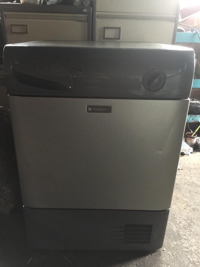 Silver hotpoint 7kg condenser dryer