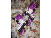 Kids rollerskates size 13-3 adjustable