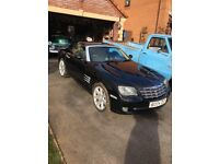 Black Crysler Crossfire 2004 low mileage new 12 months MOT good condition stunning car