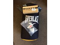 Everlast hanging punch bag