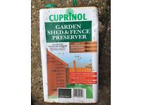 Cuprinol Shed and Fence protector, Decking protector plus long roller handle