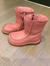 Clarks girl's winter boots. Size 4F