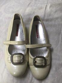 Prada girls shoes