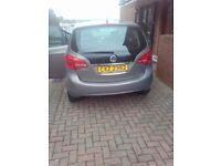Vauxhall, MERIVA, MPV, 2012, Manual, 1398 (cc), 5 doors
