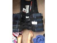 Life vest body glove