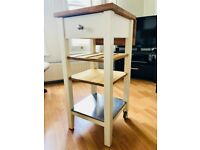 IKEA Stenstorp Kitchen trolley - White