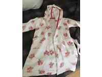 Little White Company Dressing Gown Age 4-5