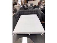 Modern Grey Sofa Bed with big comfortable mattress ** MEGA OFFER **