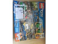 Lego 60052 Cargo Train Brand New Retired Set
