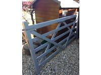 Entrance/ Farm Wooden Gate