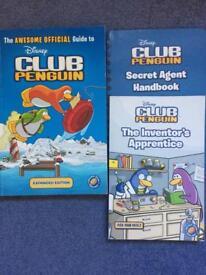 Club Penguin 3 book set.