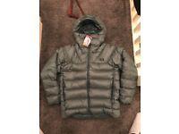 North Face Immaculator 800 down jacket medium pine green