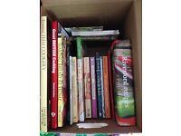 Box of Recipie Books