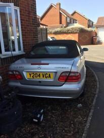 Mercedes clk 230 elegance convertible 2001