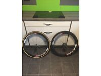 HED stinger 50 carbon tubular wheels