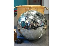 18inch 50cm disco mirror ball with motor