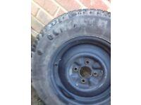 Caravan wheel £15