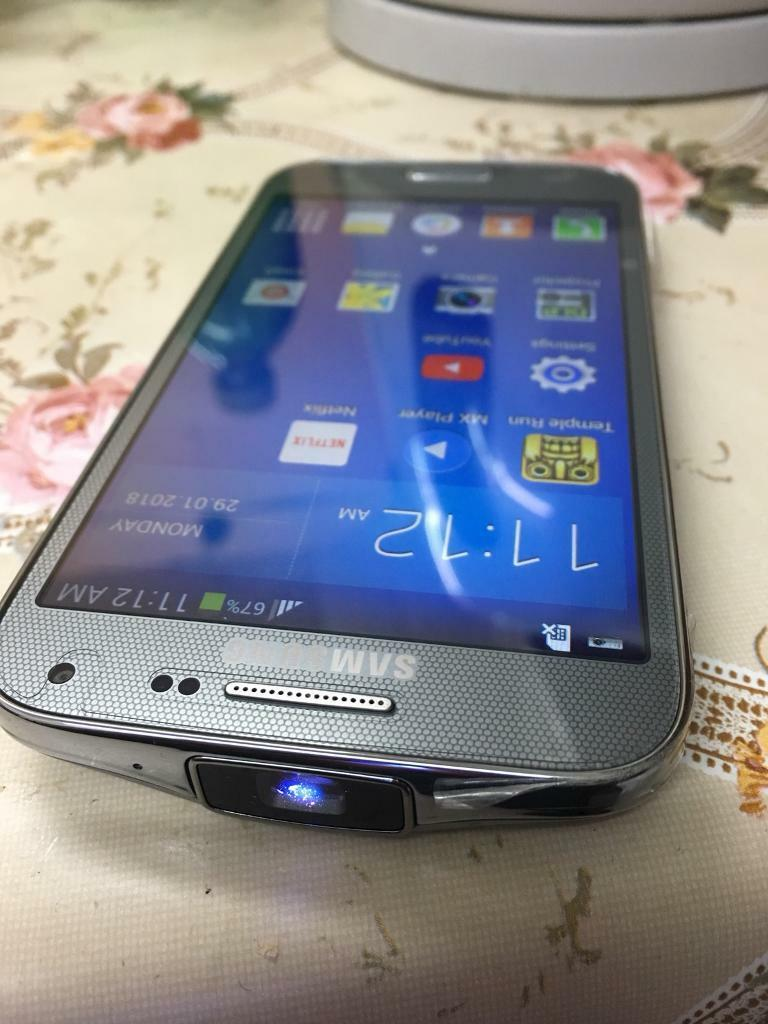 406090b52fa Samsung galaxy beam 2 with built in HD projector phone new with box and case