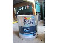 Dulux Trade Paint Selection - Vinyl Matt / Diamond Matt / Flat Matt