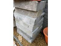 X2 concrete blocks and X10 thermalight blocks
