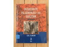 Invertebrate palaeontology and evolution textbook