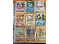 Pokemon Cards Complete Base Set 102/102 1999 Charizard venasaur Blastoise MINT