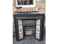 Victorian Cast-Iron Fireplace - £60 Collection S11
