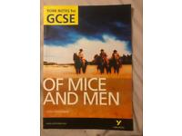 Of Mice and Men revision guide